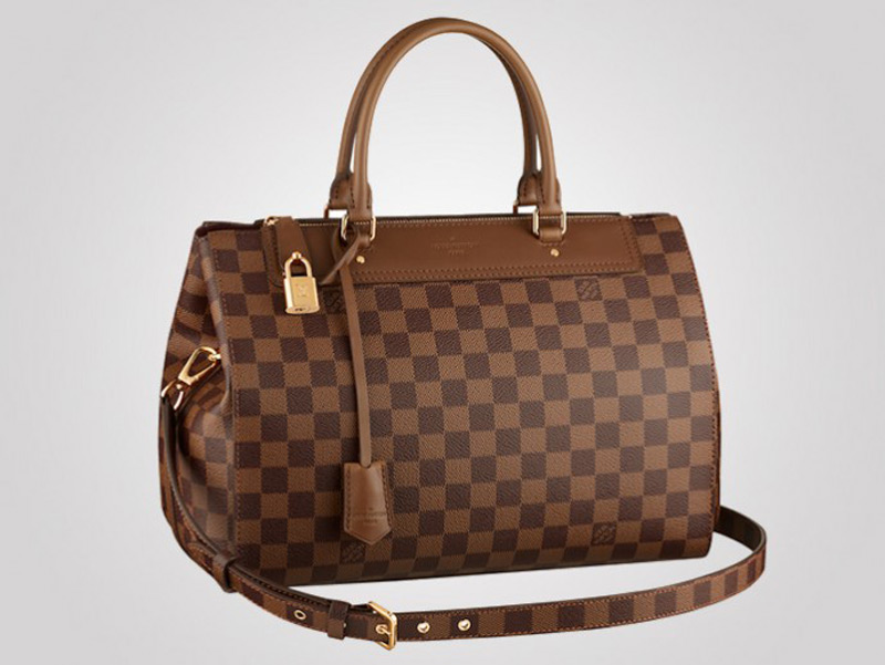 Louis Vuitton Men S Classic Greenwich Now Refashioned As Damier Canvas Handbag For Women