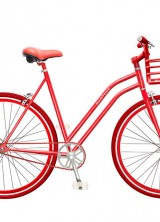Let's Ride in Style! Martone Cycling's Red Chain Bikes