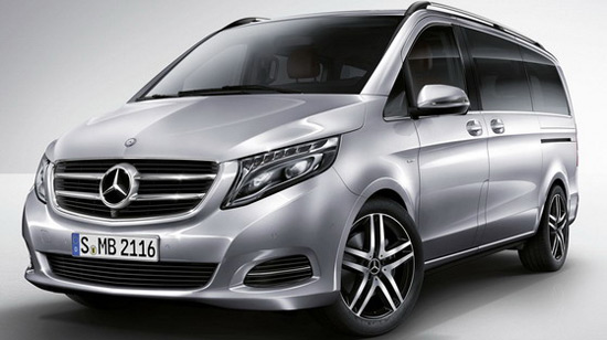 Mercedes has officially presented the successor of the current model Viano, which is now called the V class