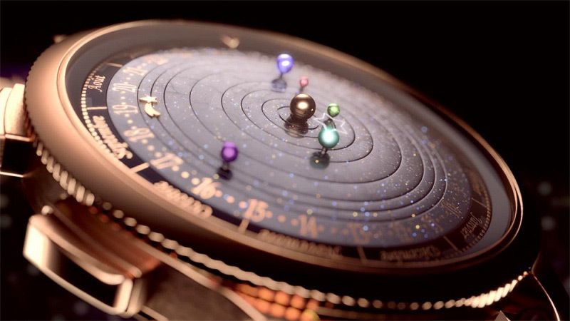 Midnight Planetarium by Van Cleef & Arpels