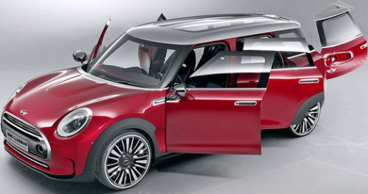 New Mini Clubman At Geneva Motor Show
