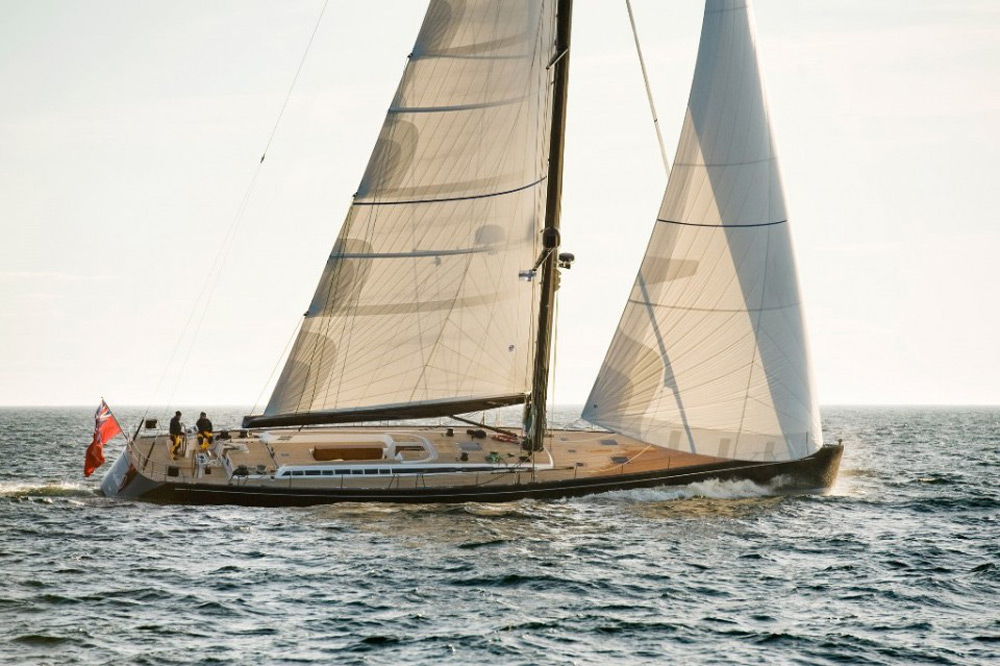 Nefertiti, the newest Swan 90 available for sale