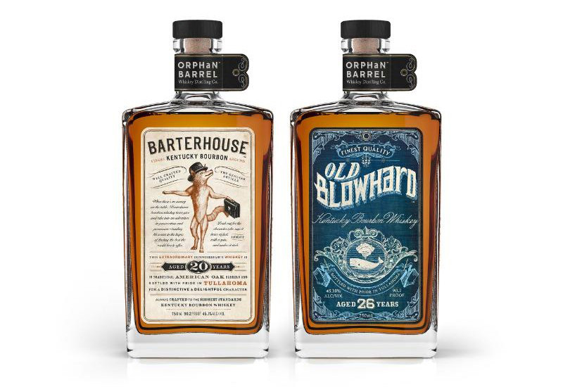 Orphan Barrel Whiskey Distilling Company brings old spirits to light