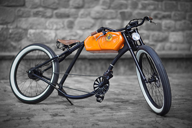 Oto Cycles - E-Bikes with Retro Design