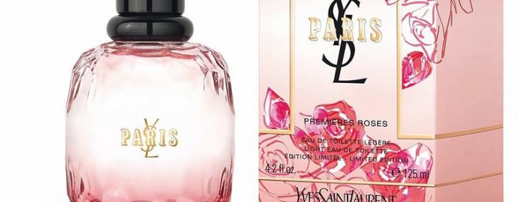 Yves Saint Laurent Unveils Paris Premières Roses Fragrance