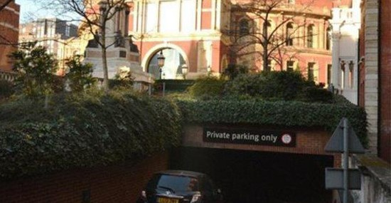Parking space for two cars near London's Royal Albert Hall has been sold for a staggering 400,000 pounds($665,000)