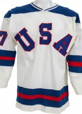"Phil Verchota's ""Miracle on Ice"" Hockey Jersey at Heritage Auctions"