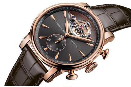 Arnold & Son Unveils the Technically Advanced Tourbillon Chronograph: the Royal TEC1