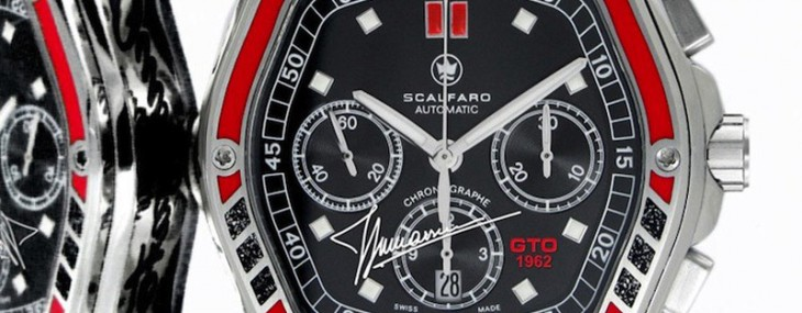 Swiss Luxury Watch Brand Scalfaro Creates Ltd. Edition Timepiece Inspired by Nick Mason's Iconic Ferrari 250 GTO