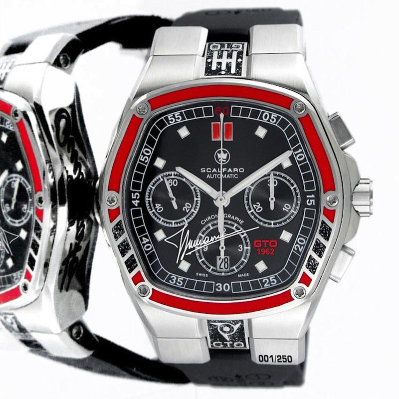 Swiss Luxury Watch Brand Scalfaro Creates Ltd. Edition Timepiece Inspired by Nick Mason's Iconic Ferrari 250 GTO