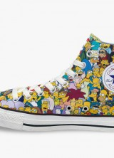 Simpsons x Converse Chuck Taylor All Star with All Characters