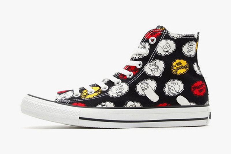 72f1cd1f5760 Simpsons x Converse Chuck Taylor All Star with All Characters ...