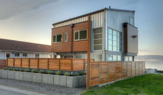 Designs Northwest Architects have recently completed the Tsunami House