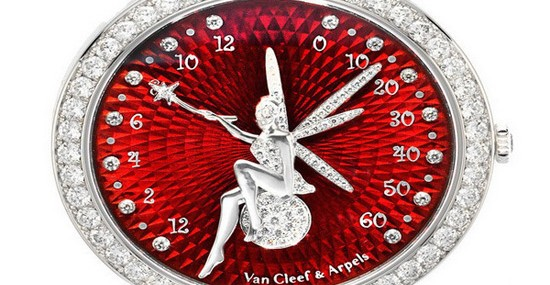Van Cleef & Arpels Lady Arpels Feerie Rouge Watch For Valentine's Day