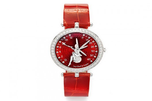 Van Cleef & Arpels Lady Arpels Feerie Rouge Watch For Valentine's Day