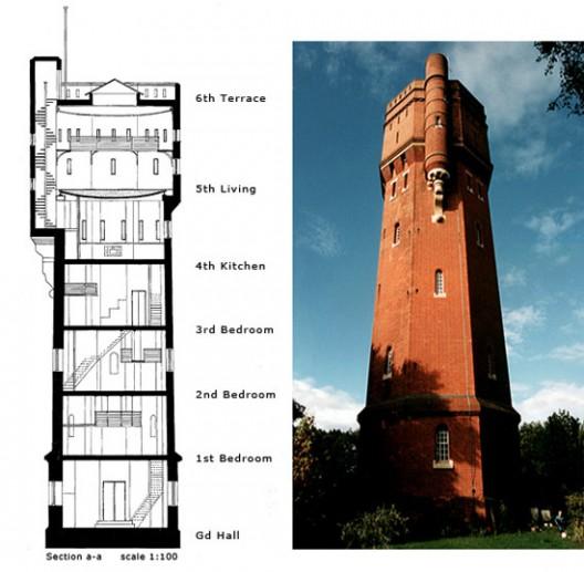Munstead water tower, UK