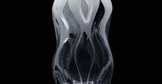 Zaha Hadid designs crystal vase collection for Lalique