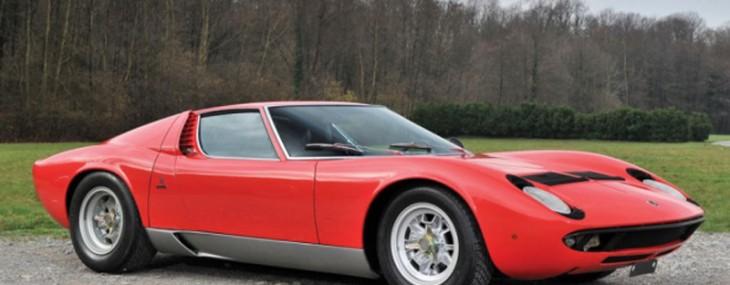 1969 Lamborghini Miura P400S Heading to RM Auctions, Monaco