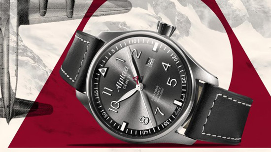 Alpina to unveil new watch for professional pilots