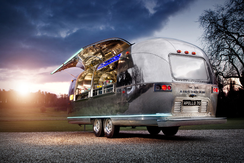Incredible Apollo 70 Airstream Bar