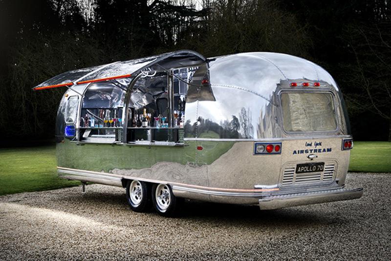 apollo 70 airstream bar by american retro caravans. Black Bedroom Furniture Sets. Home Design Ideas