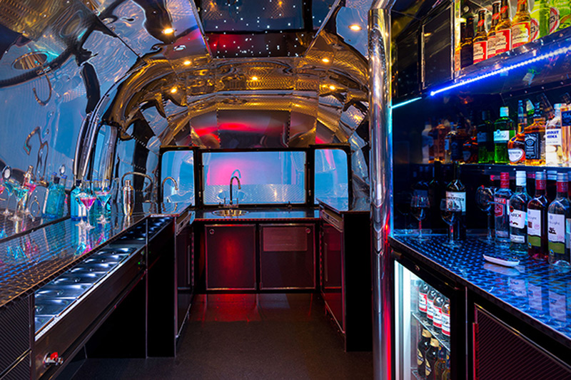 apollo 70 airstream bar by american retro caravans