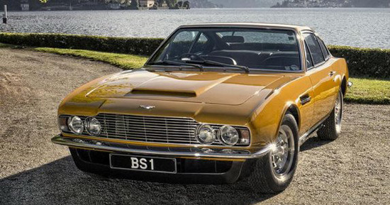 Aston Martin DBS From ''The Persuaders'' Series At Auction