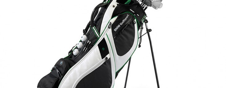 Strut the Green With This BMW Golf Carry Bag