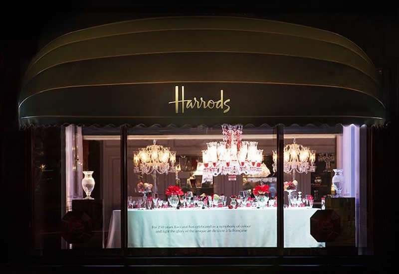 Baccarat 250 Years of French Art de Vivre Exhibition at Harrods