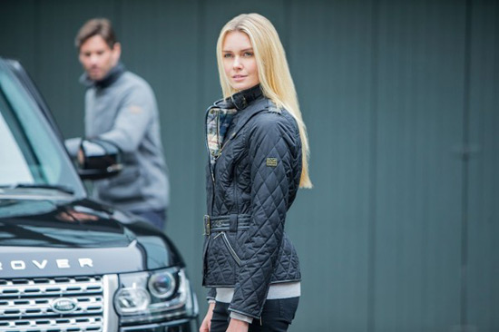 Land Rover to launch clothing range with Barbour