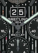 New Bentley 6.75 Midnight Carbon by Breitling