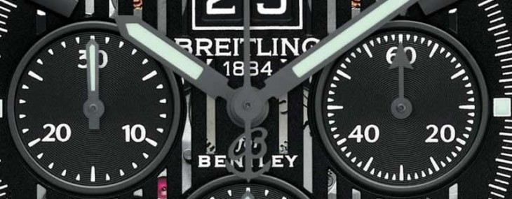 Breitling for Bentley 6.75 Chronograph Midnight Carbon watch pays tribute to the fastest Bentley