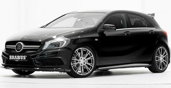 Brabus Mercedes A45 AMG With 400Hp