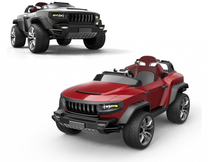 Broon F8 By Henes Co Electric Luxury Car For Kids