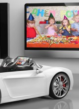 Broon F8 by Henes Co – Electric Luxury Car for Kids
