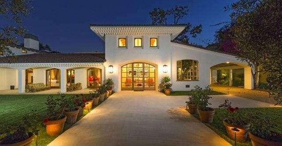 See inside Bruce Willis' $18 million Beverly Hills Hacienda