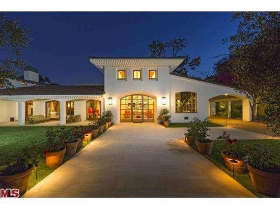 See inside Bruce Willis' $18 million Beverly Hills Hacienda