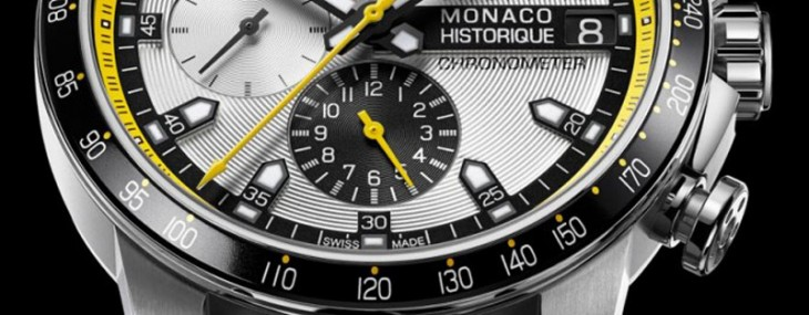 2014 Chopard Grand Prix de Monaco Historique Chronograph comes in yellow and black