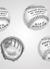 U.S. Mint to Sell Special Curved Coins to Honor The National Baseball Hall of Fame