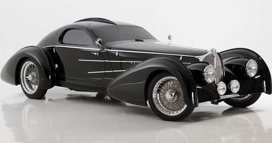 Delahaye USA has presented, for the Amelia Island Concours event, Pacific model