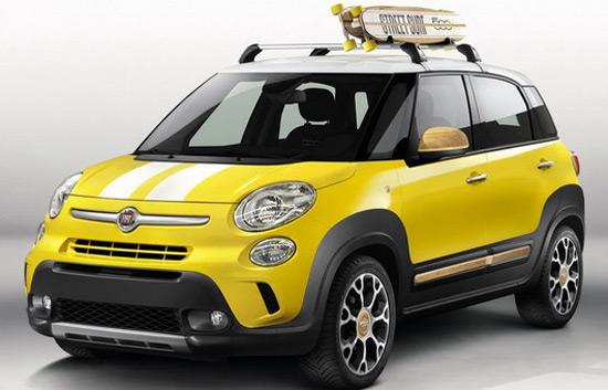 Fiat 500L Trekking Street Surf Concept At Geneva Motor Show