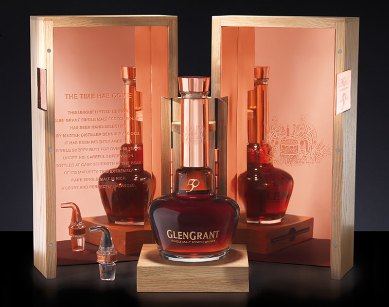 Campari releases €10,000 Glen Grant 50 YO; its most expensive whisky to date