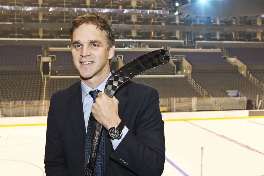 GRAHAM Signs New Ambassador and Hockey GreatLuc Robitaille