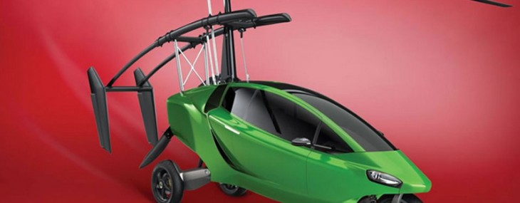 Helicycle – Flying Gyrocopter And Motorcycle in One
