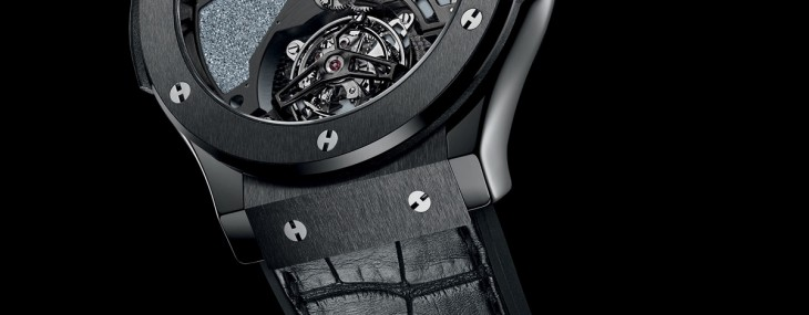 Hublot presented another masterpiece at Baselworld 2014 - Classic Fusion Tourbillon Firmament