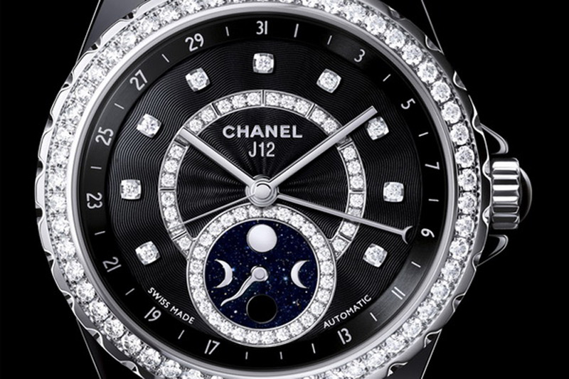 New J12 Moonphase timepiece is the latest masterpiece of popular luxury brand Chanel