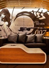 Become Famous 007 Agent For One Night at the Seven Hotel in Paris