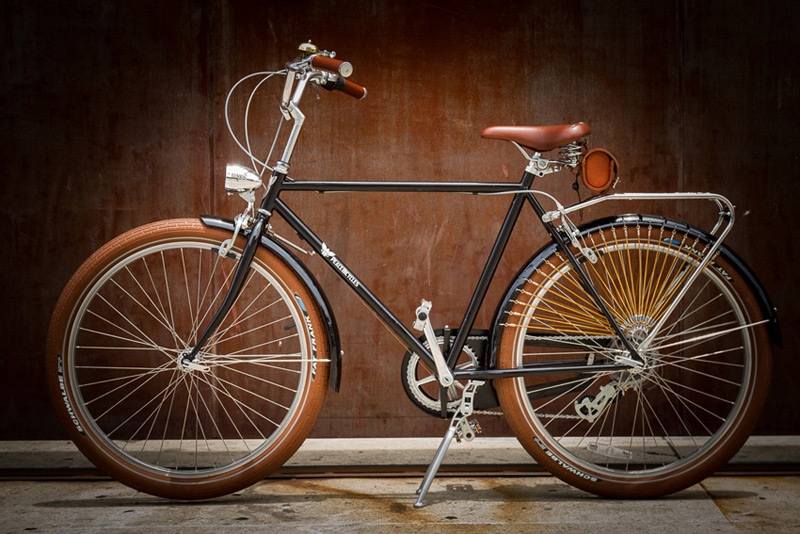 The Dreamer Peace Bicycle S Vintage Style Bike Extravaganzi