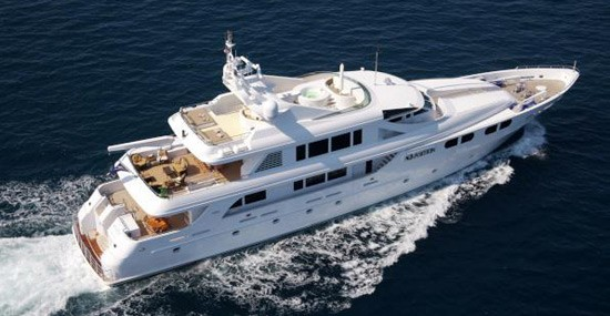"Luxury Yacht from ""Wolf of Wall Street"" Available for Charter"