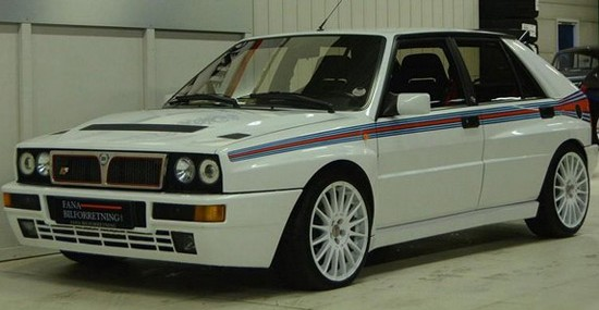Rare And Unique Lancia Delta HF Integrale Evo Martini 5 Is On Sale